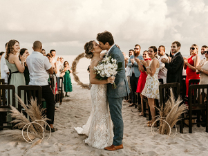 Beach Wedding Florist Playa del Carmen