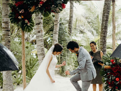 beach Wedding Florist
